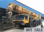 KRUPP USED TRUCK CRANE 100 TON CHEAP PRICE